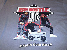 Beastie Boys Mens Rock N Roll Gray & Black T-Shirt Size Medium M