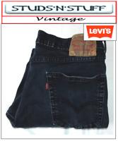 "VINTAGE LEVIS 511'S SLIM FIT RAW CUT JEANS W 36"" L 27"" APROX SIZE UK 16 (T217)"