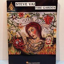 Steve Vai Fire Garden Heavy Metal Guitar Tab Music Book