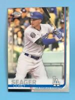 2019 Topps Chrome Corey Seager #106 Los Angeles Dodgers