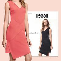Wolford Asymmetric Dress - 40 - mid coral  ... matte und glänzende Viskosejersey