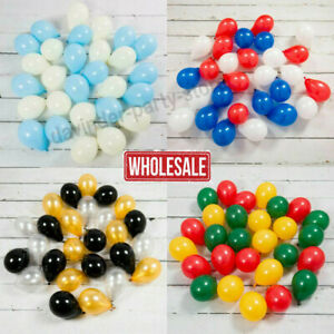 """5"""" inch small latex balloons WHOLESALE party birthday 100 PCS Mothers day ballon"""