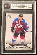 2011-12 Upper Deck #208 Gabriel Landeskog Young Guns RC Rookie Card KSA 9 MINT !