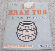 THE BRAN TUB - VINTAGE WOLF CUB / BOY SCOUTS BOOK