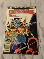 Marvel Super-Hero Contest of Champions #2 (Jul 1982, Marvel) Very Good Shape