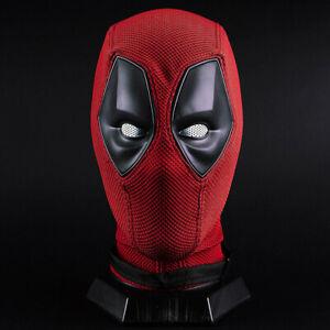 Deadpool Mask Halloween Cosplay Prop Hood Helmet Breathable Scary Full Face New