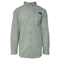 Columbia Men's Light Mint PFG Super Harborside L/S Woven Shirt (Retail $75)