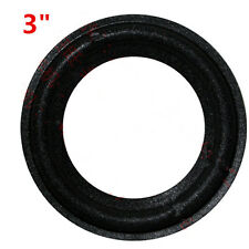 "3"" 3inch 3 inch 75mm Speaker Surround Foam Woofer Edge Audio Repair"