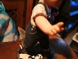 Nadal figure little boy
