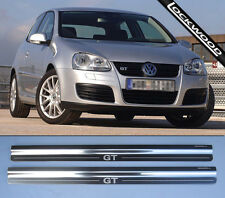 VW Golf GT Mk5 Stainless Kick Plates Sill Protector Trims