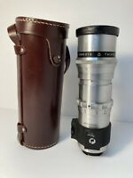 Meyer-Optik Gorlitz Telemegor 250mm 1:5.5 - Exakta Mount - VINTAGE With Case