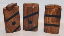 Wooden Dugout With Metal Bat Or Cigarette, Assorted Designs, Buy 3 Get 1 Free