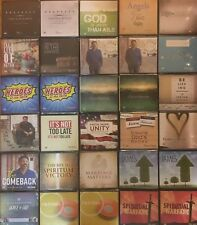 Pick 5 Tony Evans CD's Spiritual Warfare, Prophecy & our World Vol 1 & 2, & more