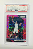 2018-19Panini Prizm Fast Break prizm - Pink DEMARCUS COUSINS PSA MINT 9   POP 1