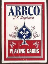 1 DECK RED Arrco US Regulation playing cards  FREE USA SHIPPING