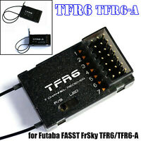 For FrSky TFR6 TFR6-A Futaba FASST Compatible 2.4GHz 3.5V~10V Receiver Module