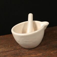 Vintage Mortar & Pestle Small Pharmacy Apothecary Crush Pills PRIORITY MAIL