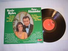 LP - Wencke Myhre & Peter Alexander - 1972 Club Sonderauflage # cleaned