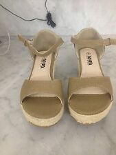 Shoes of Soul Ladies Canvas Sandals Size 7