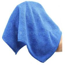 Practical Durable Blue Microfibre Car Cleaning Wash Cloth Cloths Towel 30x30cm
