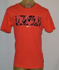 NEW NIKE FC Football Club six a side Orange men large T-shirt Fifa Soccer Futbol