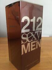 CAROLINA HERRERA 212 Sexy Men 100ml EDT for Him BRAND NEW Spray Authentic