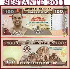 SWAZILAND SWASILAND - 100 EMALANGENI 19.4. 2008 Commemorative - P 34 - FDS UNC