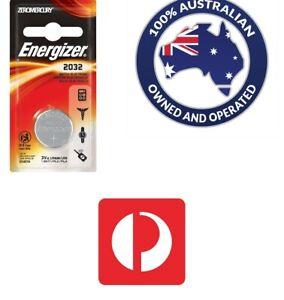 Genuine Energizer CR2032 3Volt Lithium Battery SINGLE Pack Long Expiry 09/22 NEW