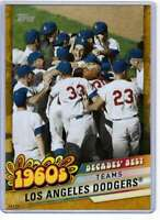 Los Angeles Dodgers 2020 Topps Decades Best 5x7 Gold #DB-24 /10 Dodgers