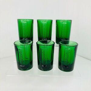 6 x Green Jagermeister Jäger Bomb Shot Glasses, Mancave, Bar, Pub Home Bar Party