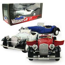 1:24 Vintage Car DieCast Model Car Kid Pull Back Friction Toy Die Cast Child