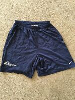 Nike Mesh Men's Clippers Basketball Navy Blue Shorts Size XL