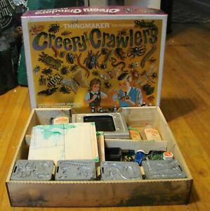 Vintage 1964 Mattel Thingmaker Creepy Crawlers in Original Box