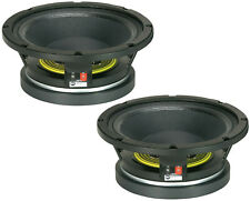 "2x Rcf L10/750Yk Professional 10"" Mid-Bass Sub Woofer Speaker 700W Dealer -Pair-"