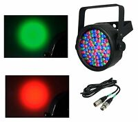 NEW CHAUVET SlimPar 38 LED DMX Slim Style Par Can DJ Stage Light + 25' DMX Cable