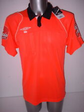 Referee Orange Football Shirt Jersey L BNWOT Football Soccer Umbro Premier EFL