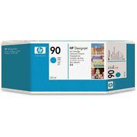 ORIGINAL HP 90 C5061A Cian Tinta 400ml Designjet 4000 4500 4520 MHD 2/2017