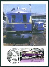 BUND MK EISENBAHN FLIEGENDER HAMBURGER VT 877 PRIVATE !! MAXIMUMKARTE MC CM bu89