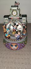 Disney Mickey Mouse Snowglobe, With Goofy, Minnie, Donald, And Pluto