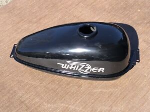 Whizzer Motorbike black gas tank - embossed & super clean - no dents - FREESHIP