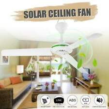 Ceiling Fan Solar Powered Cooling Small Air Conditioning Appliances Natural Wind