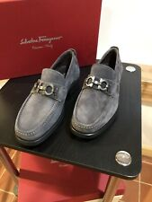 FERRAGAMO BUC SUEDE SHOES