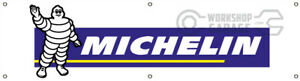 MICHELIN TYRES  BANNER FOR WORKSHOP - CAR CLUB - MAN CAVE