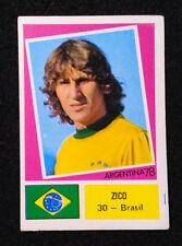 Sticker FIFA World Cup Argentina 78 ✱ ZICO ✱ Rare Brazil Football Team (Port.)