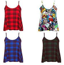 Petite Sleeveless Mini Check Dresses for Women
