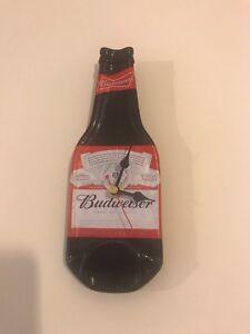 Budweiser Bottle Wall Clock