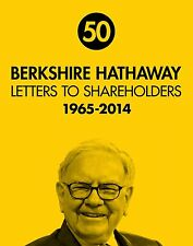 Berkshire Hathaway Letters to Shareholders 1965-2014 Warren Buffett - Hardcover