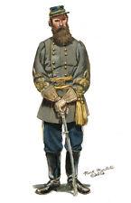 Mark Maritato Civil War General James Longstreet 1862 Signed Giclée Art Print