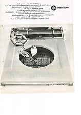 PUBLICITE  1965   FLANDRIA    machine à laver  INOXIUM