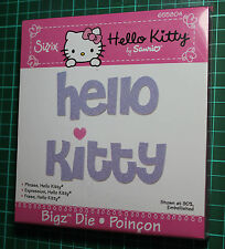 Sizzix BIGZ HELLO KITTY PHRASE Die Cutter
